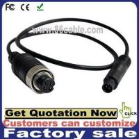 4pin aviation plug to 4pin min din cable car camera video recorder cable Manufactures