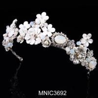 Wholesale High Quality Zircon With Pearl Bridal Wedding Headpiece Jewelry from china suppliers