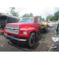 China 1987 Ford F700 Single Axle Flatbed used for sale on sale