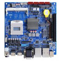 Buy cheap Embedded Mini ITX Motherboard with FCPGA946 Socket and QM87 Chipset from wholesalers