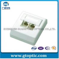 Buy cheap Network Cabling Single Port Face Plate Single Port Face Plate from wholesalers