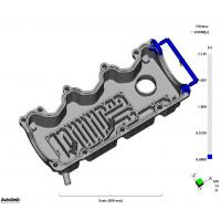 Buy cheap Mold Flow Analysis Diagram Plastic injection mold from wholesalers