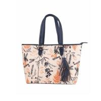 Wholesale Handbags Floral Print Accented Tote Bag from china suppliers