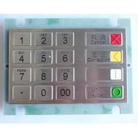 Buy cheap European Style,customized Layout,IP 65 Protection Encypted Pin Pad with PCI and PED Certification from wholesalers