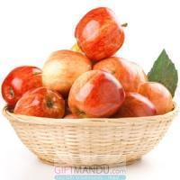 Buy cheap Fresh Apple Round Gift Basket (3kg+) from wholesalers