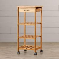 Buy cheap Great Quality Bamboo Kitchen Stuff of Bamboo Trolley product