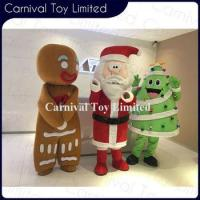 China Top sale custom lovely Christmas giant clothes plush toy on sale