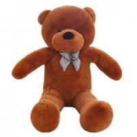 Buy cheap Plush brown teddy bear with knot from wholesalers