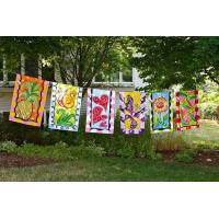 Buy cheap Hot Sale Outdoor Hanging Decorative Festival Personalized Garden Flag from wholesalers