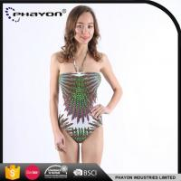 Wholesale OEM Tied Bow Style One Piece Swimwear Quality Hot Selling Sheer One Piece Swimwear from china suppliers