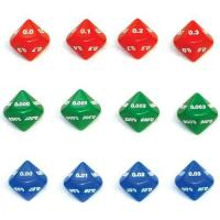 Buy cheap 10-Sided Decimal Dice - Set of 12 from wholesalers