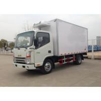 Buy cheap JAC Small refrigerator van truck from wholesalers