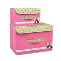 Buy cheap KSSB040 Collapsible Storage Boxes Bra Underwear Closet Organizer Drawer Divider 2 Set (Color 1) from wholesalers
