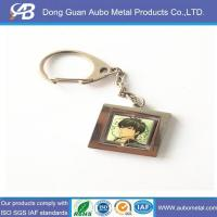 Wholesale metal photo frame key rings from china suppliers