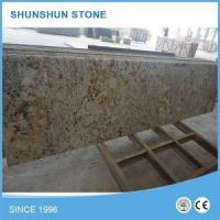 Buy cheap High Polished Bullnosed Brazilian White Granite Kitchen Countertop from wholesalers