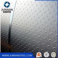 Wholesale standard steel checkered plate size and specification from china suppliers