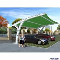 Buy cheap Green Car Parking awning Design Sketch from wholesalers
