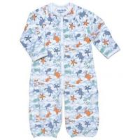 Buy cheap Infant Convertible Gown - Romper with Sea Print from Under The Nile from wholesalers