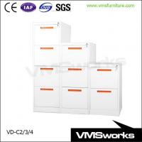 Buy cheap New Design Fireproof 2/3/4 Drawer Vertical Office Storage File Cabinet from wholesalers