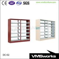 Buy cheap Double Sides Metal Library Furniture Bookshelves For Schools from wholesalers