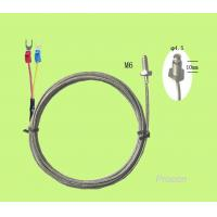 Buy cheap Thermocouple K Type Temperature Sensors 2m lead wires with M6 threads from wholesalers