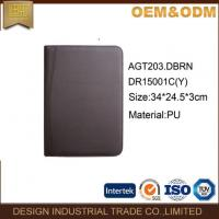 Buy cheap Zipper Leather Padfolio Folder from wholesalers