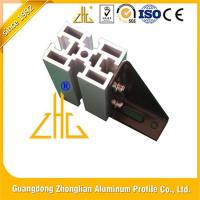 Buy cheap Easy Assembly Bi-Slotted Production Line Anodized Aluminium T Slot Extrusion from wholesalers