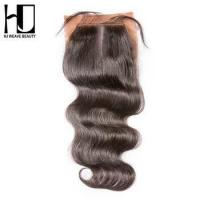 HJ WEAVE BEAUTY 4x4 Silk closure Body wave Middle part wholesale price Manufactures