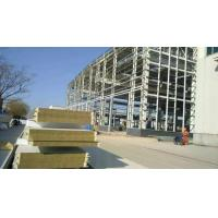 Buy cheap Fire Resistant Rockwool Mineral Wool Sandwich Panel from wholesalers