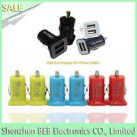 China 5V 3.1A usb car charger on sale