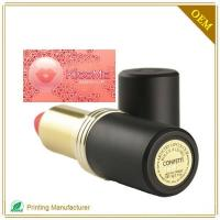 Cosmetic label CL001 Manufactures