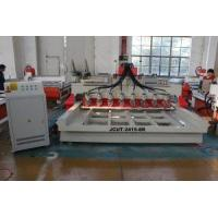 China JCUT-2415-8R 4th Axis Wood Engraving CNC Router with Eight Heads and Rotary Axis Machine on sale