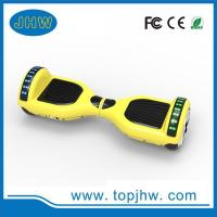 6.5inch 2 wheel hoverboard,with LED lights and bluetooth speaker Manufactures