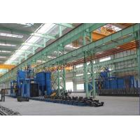 16 groups of through type steel structure of automatic sandblasting machine Manufactures