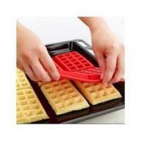 Wholesale Safety Silicone Mold 4-Cavity Waffles Cake Chocolate Pan Baking Mould Cooking Tools Kitchen Accessor from china suppliers