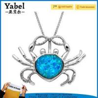 Wholesale 2017 best selling products korean style jewellery crab design necklace from china suppliers