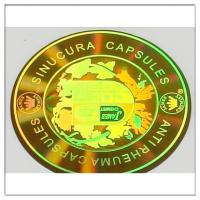 Buy cheap 2D/3D hologram label Holographic security from wholesalers