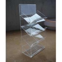 Clear acrylic display trays Manufactures