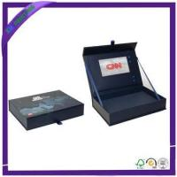 manufacturer customized Rigid decorative cosmetic box gift box with ri... Manufactures
