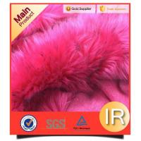 China Fur Mink Faux Fur Chair Cover Blanket Plush Fabric on sale