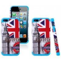 Buy cheap iPhone 5 5S Hybrid Printing different design Rubber Rugged Combo Matte Case Hard Cover from wholesalers