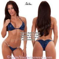 Buy cheap Sequin Bikinis Sequin Competition Bikini, Scrunch Butterfly, 62 from wholesalers