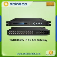 Buy cheap Chinese Wholesale Distributors Gigabits IP to ASI Gateway from wholesalers