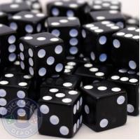 Buy cheap 16mm Black Opaque Dice - Set of 1000 16mm Black Opaque Dice - Set of 1000 from wholesalers