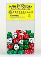 Buy cheap 10-Sided Math Fraction Dice - Set of 200 from wholesalers