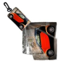 Buy cheap Microfiber Cleaning Cloth Keychain from wholesalers