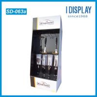 Wholesale store cardboard hooks floor pop display stand racks from china suppliers