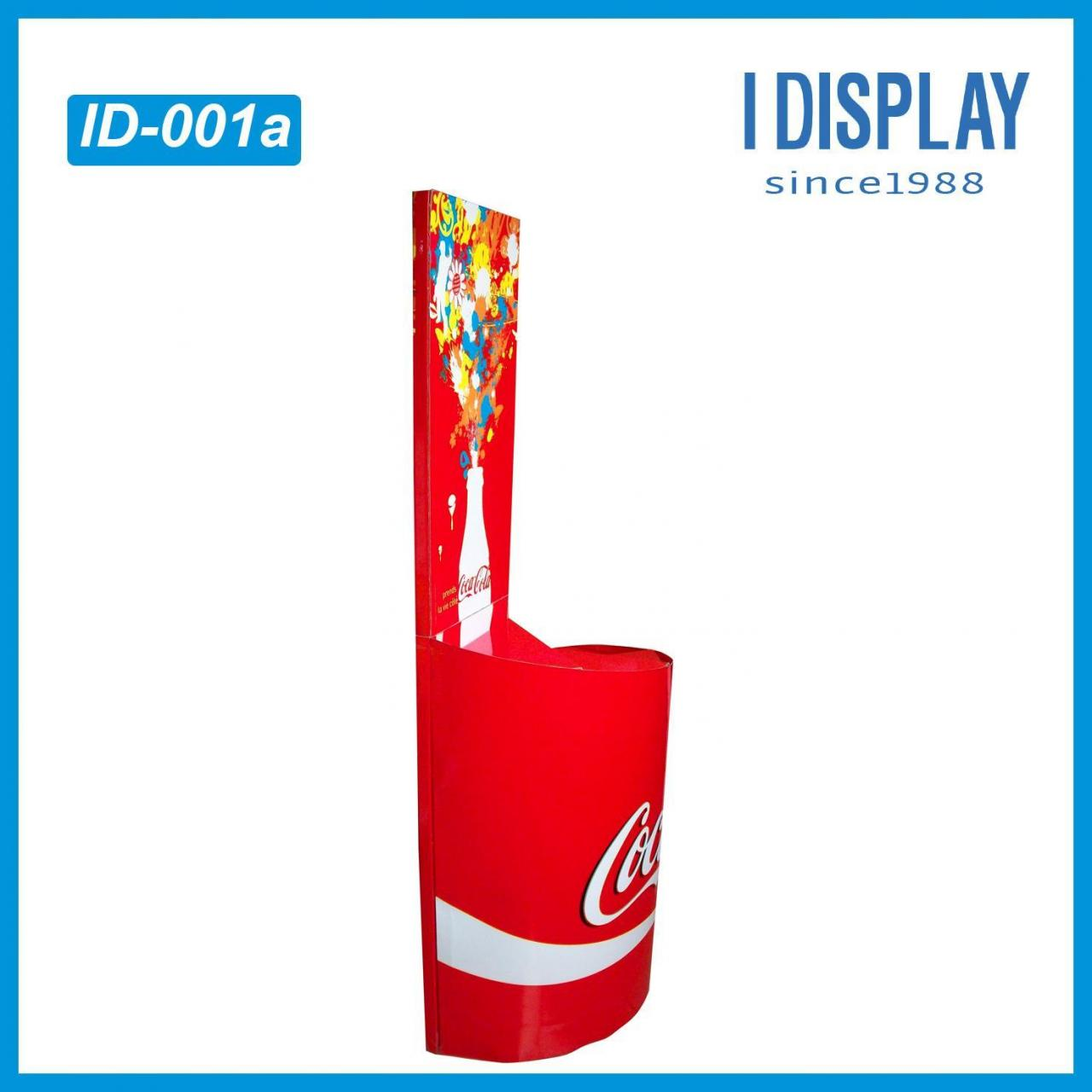 Buy cheap Customized irregular/peculiar display stand for coca cola promotion from wholesalers