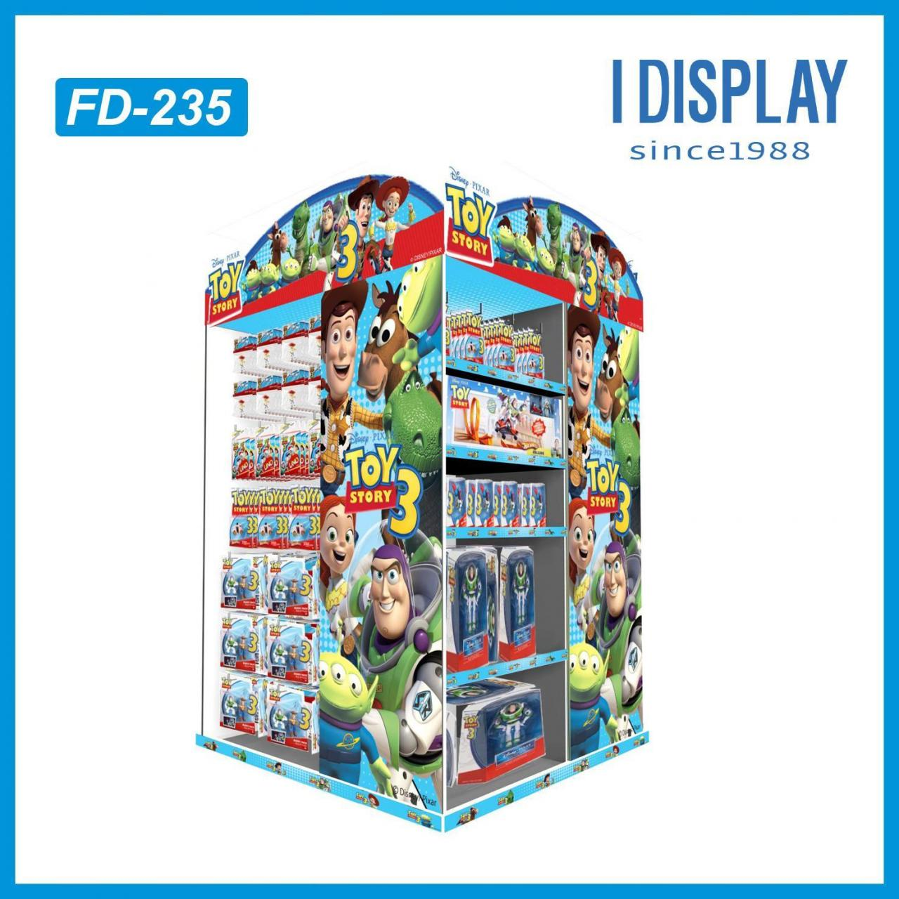 China Toy car display for PIXAR Toy Story 3 on sale