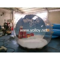 Wholesale Inflatable Dome Tent Clear Huge Inflatable Christmas Snow Globe from china suppliers